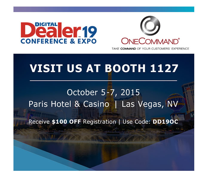 Digital Dealer 19 Conference & Expo