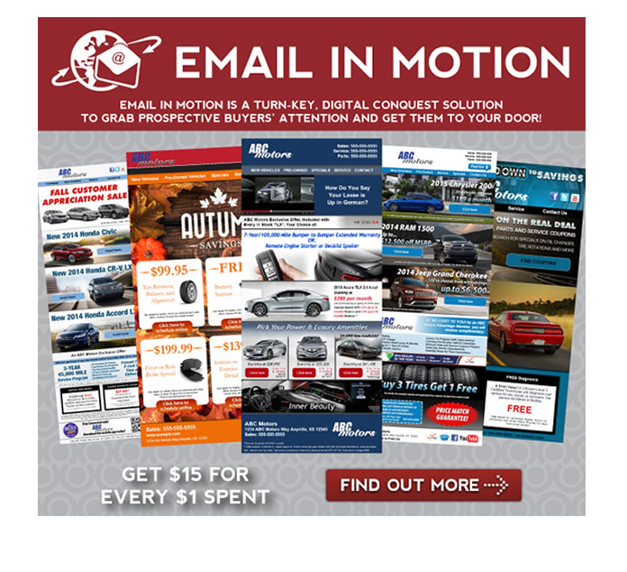 Email in Motion