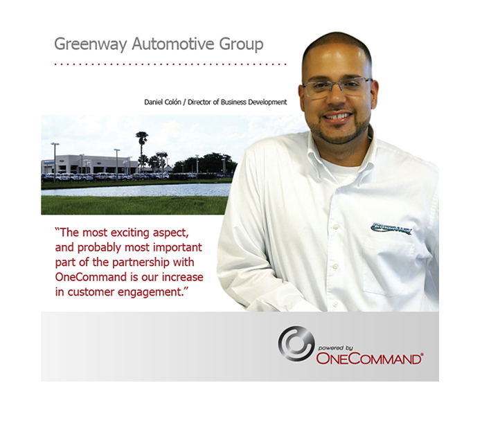 Greenway Automotive Group Partners with OneCommand to Enhance Consumer Marketing Efforts