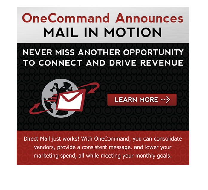 OneCommand Announces Mail in Motion